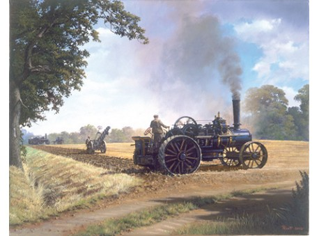 Ploughing by Steam
