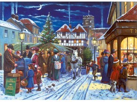 The Market Square at Christmas