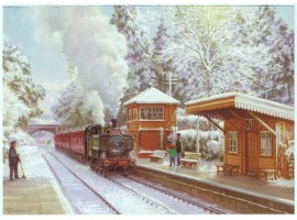 Christmas on the West Somerset Railway