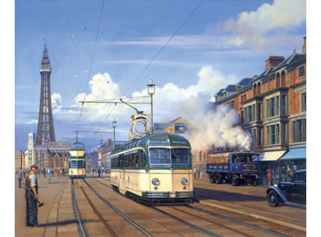 The Trams of Blackpool
