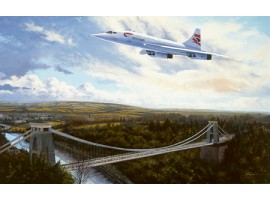 Concorde over Clifton