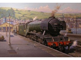 Flying Scotsman at Kingswear
