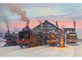Basingstoke Shed at Christmas