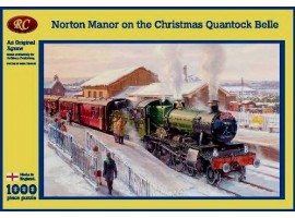 Norton Manor on the Christmas Quantock Belle Jigsaw