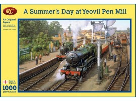 A Summers Day at Yeovil Pen Mill Jigsaw
