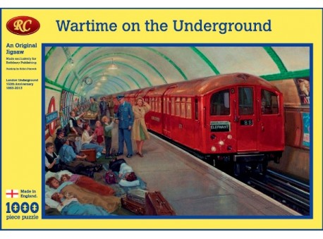 TUBE 150TH ANNIVERSARY    Wartime on the Underground Jigsaw