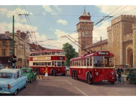 Trolleys to Cardiff Castle