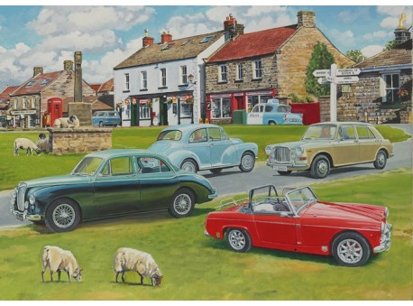 Classic Cars at Goathland