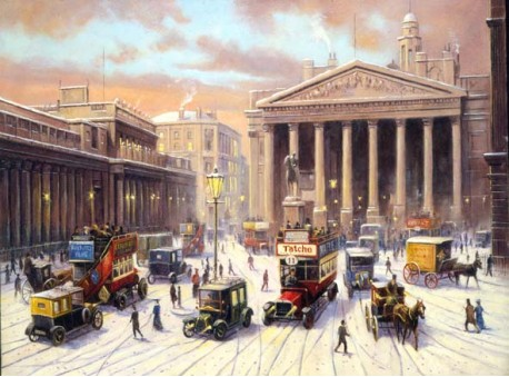 Christmas at the Bank of England