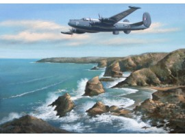 Outbound From St. Mawgen (Avro Shackleton)