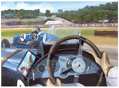 Brooklands from the Hot Seat