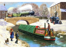Canal at Christmas