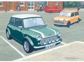 Minis in the High Street
