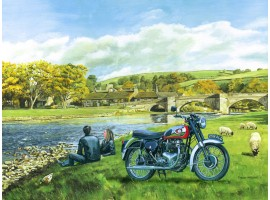 BSA at Burnsall