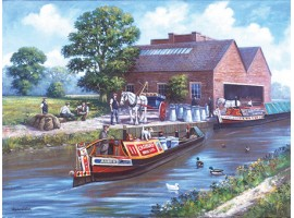 Cadbury Canal Transport