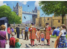 Beefeater at the Tower