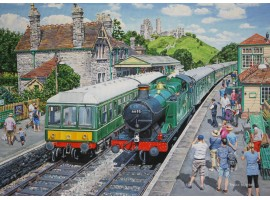 Corfe Castle Swanage Railway