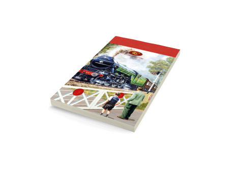 Back on Track Flying Scotsman Notepad