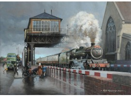 Galatea with 'The Devonian' passes Barton Street Junction, Gloucester