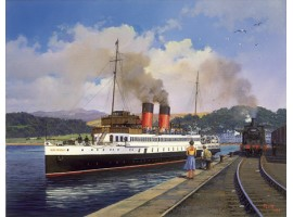 King George Leaving Oban