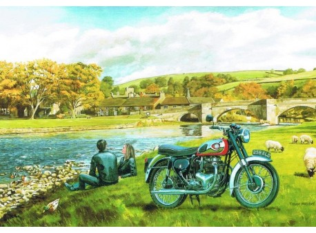 BSA at Burnstall