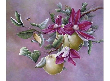 Clematis and Apples
