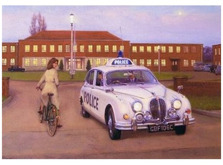 Evening at Staffordshire Police HQ