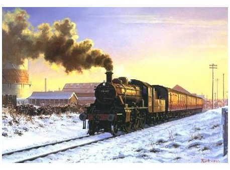 Ivatt in the Snow