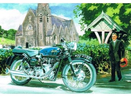 The Vicar and the Velocette