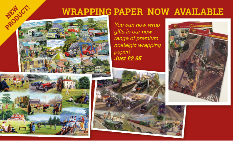 Our New bespoke Range of Wrapping Paper